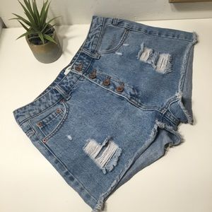Forever21 - denim shorts (A2